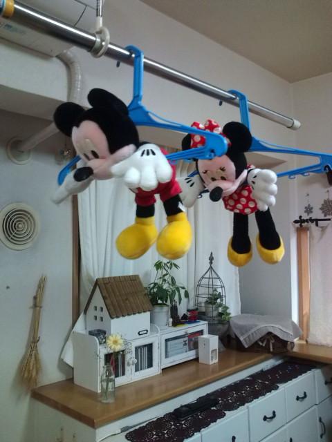 空飛ぶミッキー